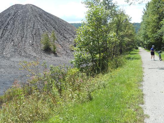 Dilltown, PA: Mine Tailings Along Trail