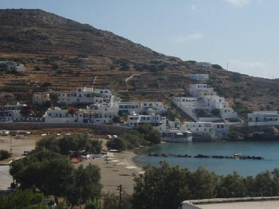 View of Alopronia, Sikinos, Greece