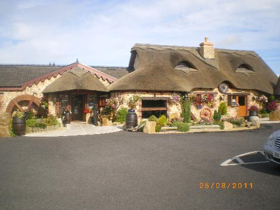 Lisnaskea, UK: The entrance to the Restaurant