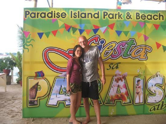 Paradise Island Park & Beach Resort: upon arrival