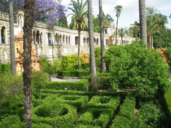 Hotel Alcazar: The Alcazar gardens