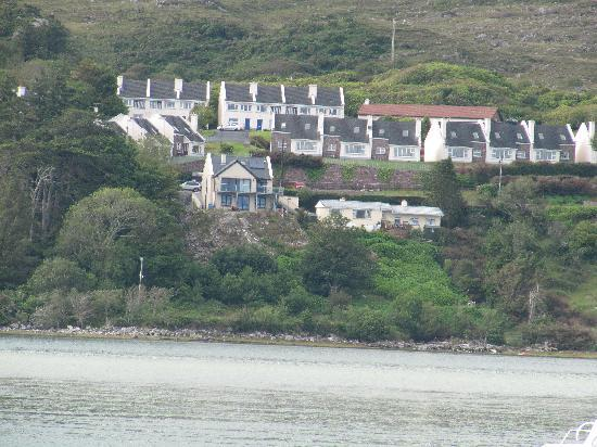 Mulranny, ไอร์แลนด์: view of the house (last on right)