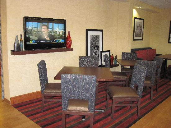 Hampton Inn Columbia: Lobby area