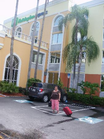 Holiday Inn Express Miami Airport Doral Area: My mother-in-law