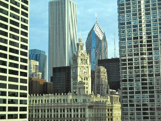 Homewood Suites by Hilton Chicago Downtown: View from our room