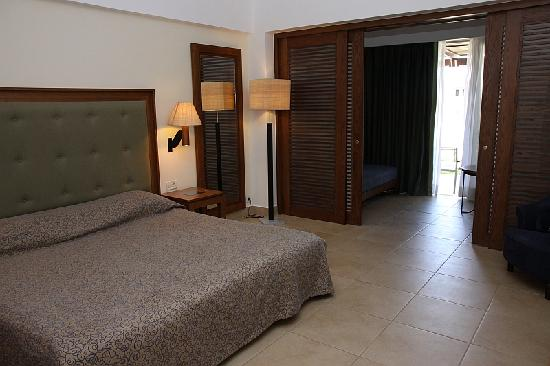 Cavo Spada Luxury Resort & Spa: Towards second room and patio