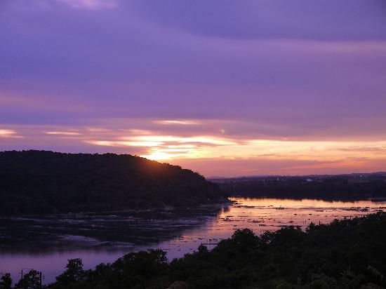 Lancaster County, PA: Susquehanna Sunset from Breezeview Park.
