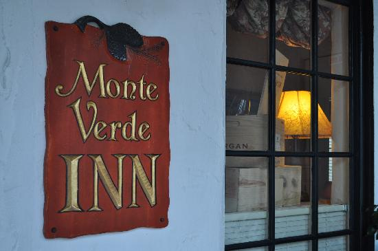 Monte Verde Inn: Welcome