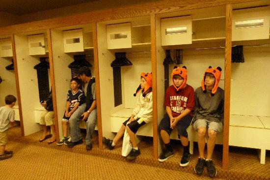 Visitor's Locker Room - Picture of AT&T Park, San Francisco