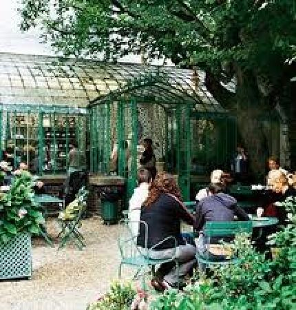 Le salon de th picture of musee de la vie romantique for Restaurant dans jardin paris