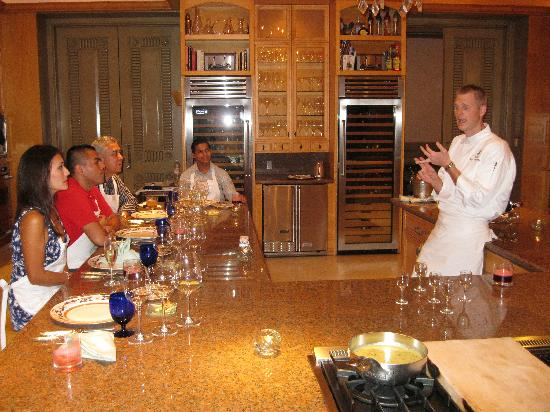 dining with the chef - Picture of The Ritz-Carlton, Cancun ...