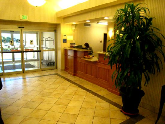 Holiday Inn Express Hotel &amp; Suites Lacey: Hotel lobby