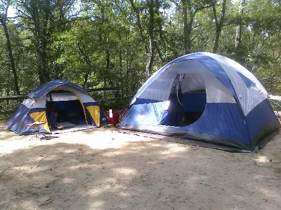Sweetwater Forest Campground: our site