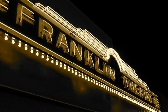 The Franklin Theatre at Night!
