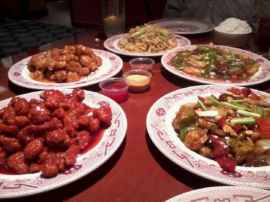 El Cortez Hotel & Casino: Delicious Chinese food you can order in their cafe.