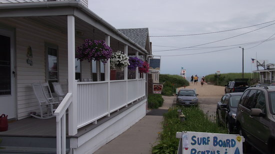 The Ocean Tripp Inn: View to the Beach