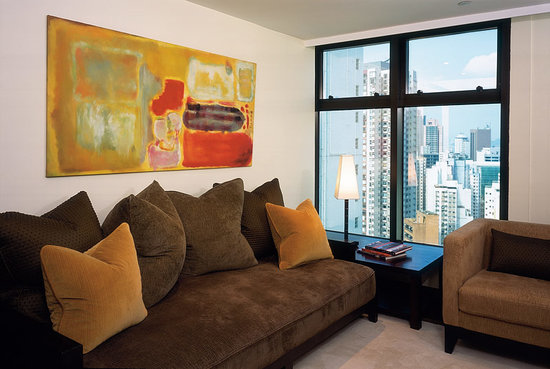 Shama Central Serviced Apartment: Living Room
