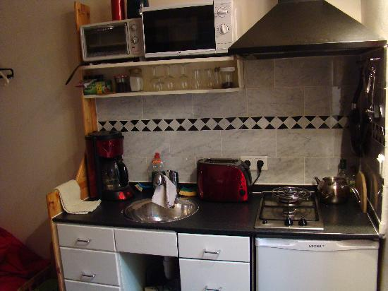 Annette's B&B: Room Laurean - Equipped kitchen