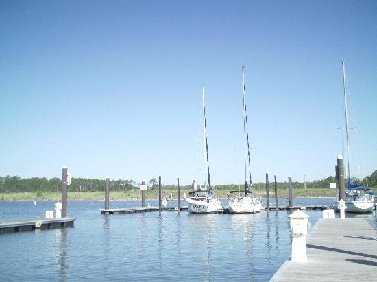 The Wharf: Intracoastal Waterway View From Dock