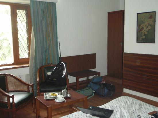 Jorbagh 27: Sitting area in double room