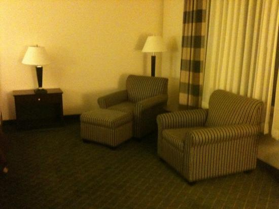 Holiday Inn Conference Center Marshfield: more space than I needed in the bedroom