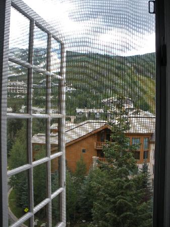 The Charter at Beaver Creek: View from bedroom window...