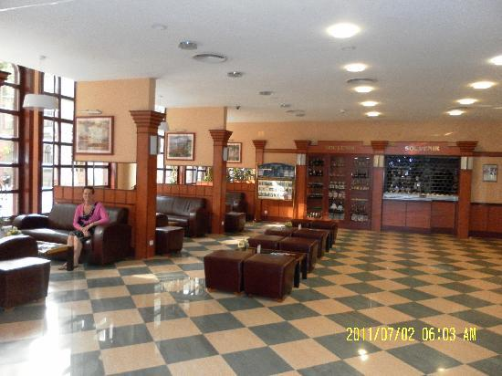 Hotel Erzsebet City Center: Hotel lobby