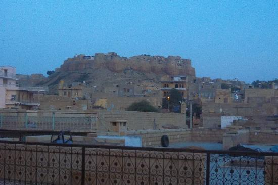Mystic Jaisalmer Hotel: view from the balcony