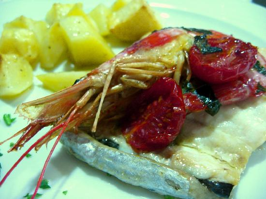 Hotel Grifone: Uno dei piatti di pesce!