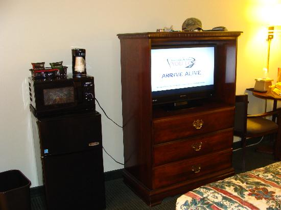 AmazInn &amp; Suites: Appliances, television
