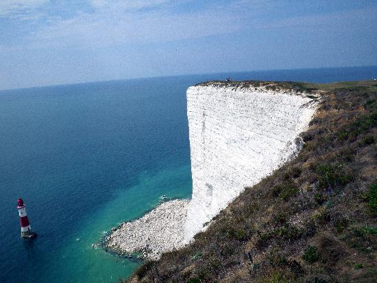 Eastbourne, UK : La scogliera di Beachy Head