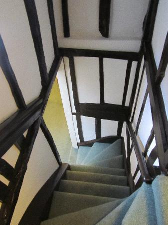 Sun Hotel and Tea Rooms: Winding stairs...