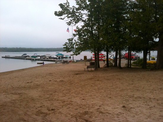 Summer House Park: Beach on Miller Lake