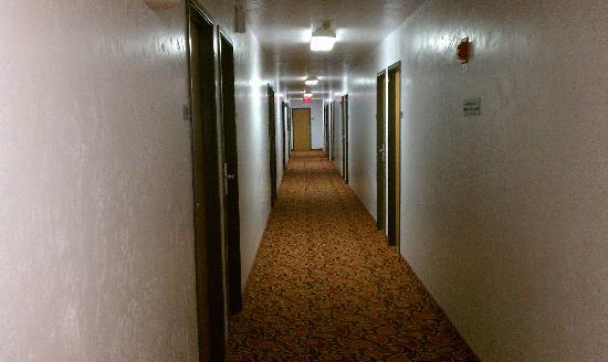 Super 8 Motel Salem: Creepy Hallway