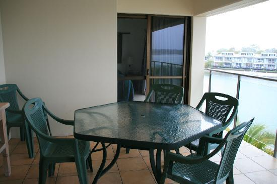 Culgoa Point Beach Resort: Balcony