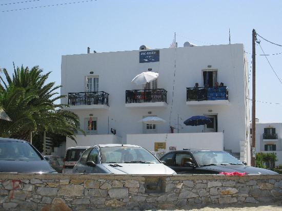 Colosseo Naxos Apartments and Rooms: From the beach