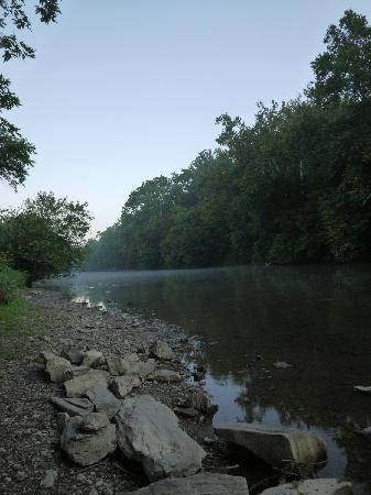 Lancaster County, PA: Conestoga River in Lancaster City Park