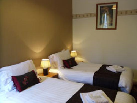 Twin Bedroom at The Sea Crest, Morecambe