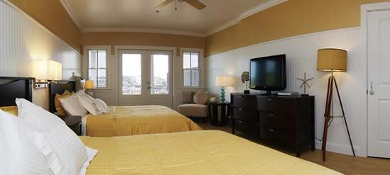 Ballard's Inn: One of our beautiful deluxe rooms