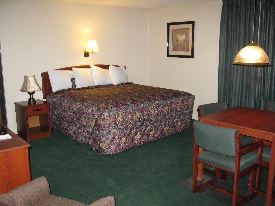 Wichita Inn North Our King Bedded Room