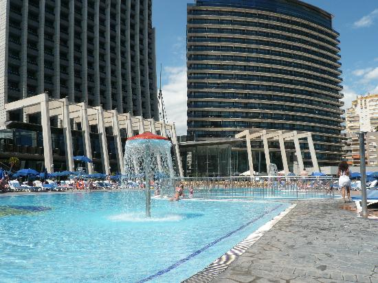 One of the 4 swimming pools picture of gran hotel bali - Hotels in alicante with swimming pool ...