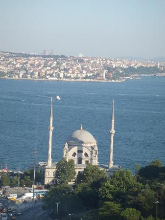 The Ritz-Carlton Istanbul: The view from our hotel window.