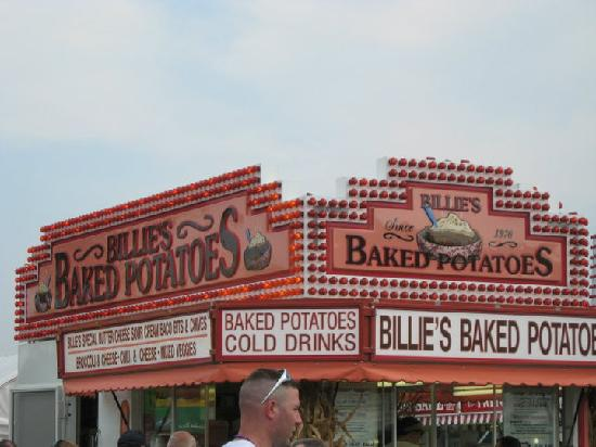 West Springfield, MA: Best baked &#39;tater at the fair