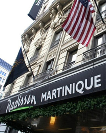 Photo of Radisson Martinique on Broadway New York City