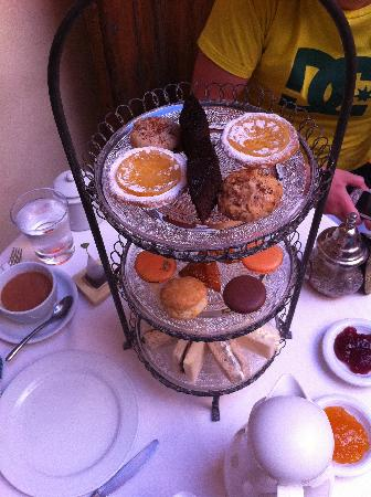 Maison MK: Afternoon tea