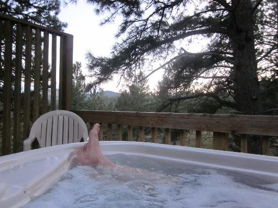 Coyote Blues Village B&amp;B: Love the Private Hot Tub