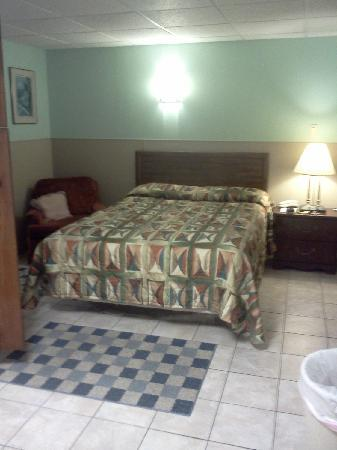 Green Cove Springs Inn: Bed had fresh clean-smelling sheets. Wery welcoming