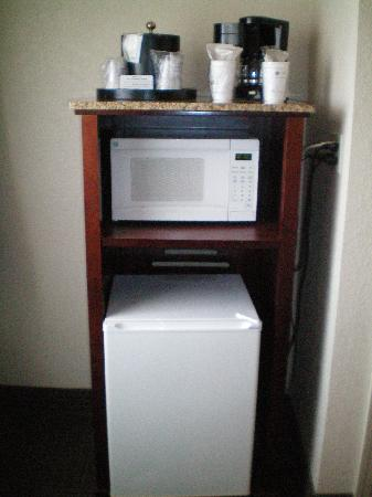 BEST WESTERN PLUS Milwaukee Airport Hotel & Conference Ctr.: Fridge