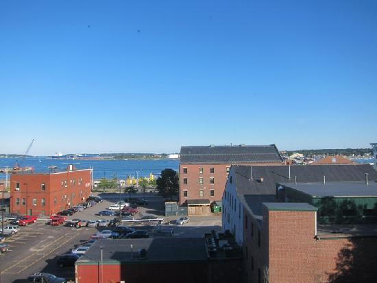 Hampton Inn Portland Downtown - Waterfront: View from our room