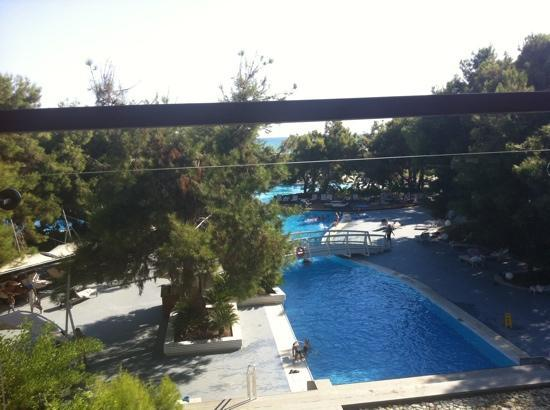 LykiaWorld & LinksGolf Antalya: view from the chill out bar